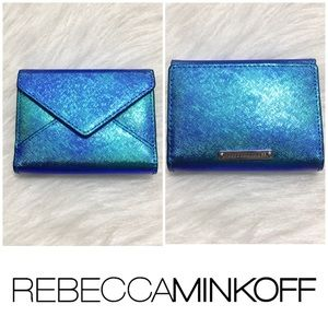 Rebecca Minkoff Holographic Small Wallet